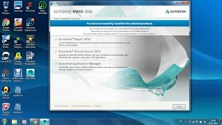 Solved 'Some products failed to install' and successfully installed Autodesk Maya 2016