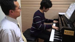 Nearer, My God, to Thee (Lesson for piano solo piece by Johann Kim) HD