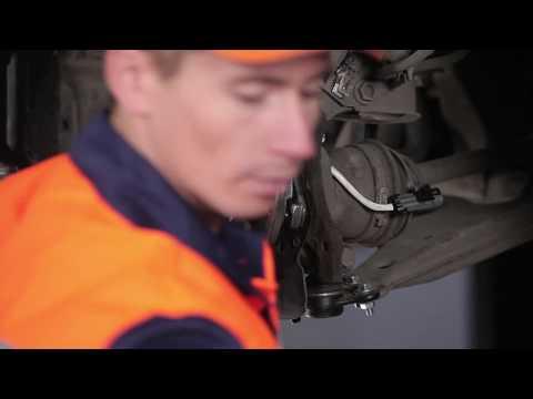 Cómo cambiar Cojinete delantero del cubo en OPEL ZAFIRA A [Instrucción]