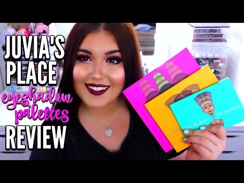 The Nubian Eyeshadow Palette by Juvia's Place #10