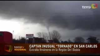 preview picture of video 'Tornado en San Carlos , Chile 31 Mayo 2013'