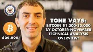 TONE VAYS ANALYSIS: BTC $1,300-$5,000, Then $20,000 On NEW BULL MARKET!