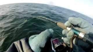 preview picture of video 'Wędkarstwo morskie, wyprawa, połów dorsza NAUTIC I 07.03.2014 Władysławowo HD GoPro Hero 3'