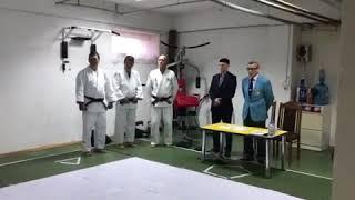 Сдача экзаменов на Кю в Центре Дзюдо Астана
