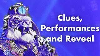 White Tiger | Clues, Performances and Reveal | Season 3 | THE MASKED SINGER