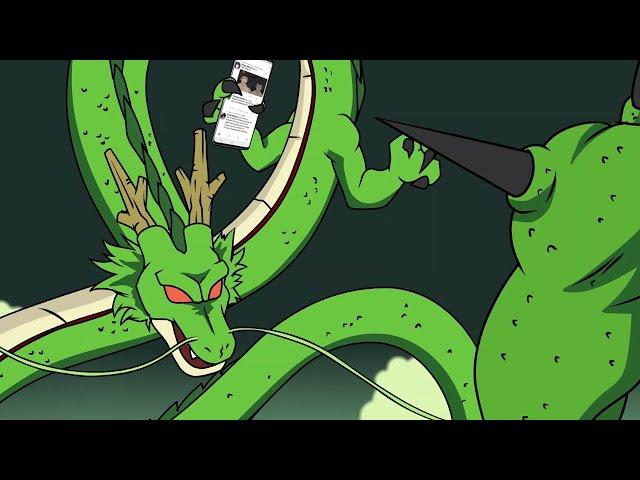 Shenron vs. Porunga Rap Battle!