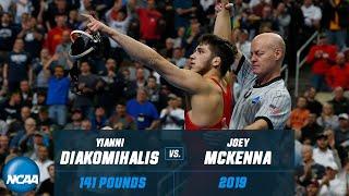 Yianni Diakomihalis vs. Joey McKenna: FULL 2019 NCAA Championship match at 141 pounds