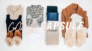 12 pieces, 90 outfits COZY AT HOME Capsule Wardrobe   CASUAL comfy basic outfits 2020   Miss Louie
