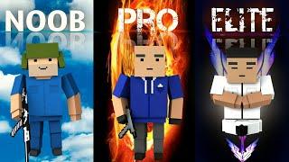 NOOB vs PRO vs ELITE | Block Strike | (Quem Ganhou?..)