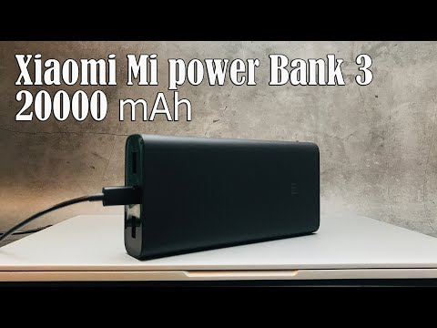 Обзор Xiaomi Mi Power Bank 3 Pro 20000 мАч