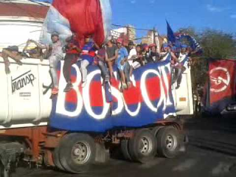 """""""Caravana del más grande de la pcia Club Guemes"""" Barra: Los Pibes • Club: Güemes"""