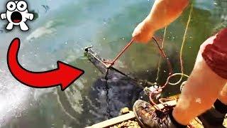 Estaba Pescando Con Un Iman y Encontró Algo Increíble