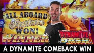 A Dynamite Comeback WIN 💥 ALL ABOARD at Agua Caliente Casino