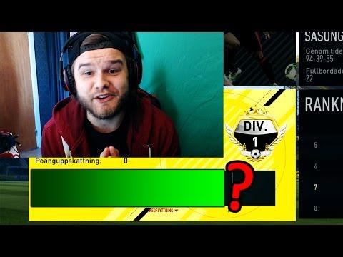 FÅR JAG ÄNTLIGEN VINNA DIVISION 1?!? - FIFA 17 på Svenska