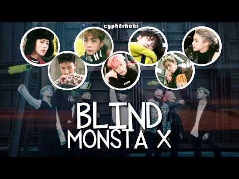 MONSTA X Imagines || #wattys2018 - 32  Blind [Hyungwon