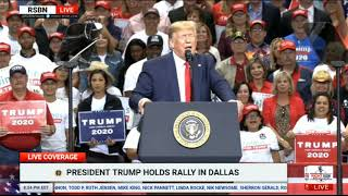 FULL SPEECH: President Donald Trump Holds Rally in Dallas, Texas