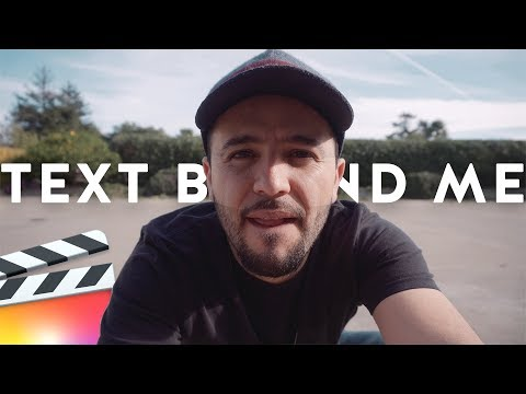 Text Behind Object Tutorial in Final Cut Pro X