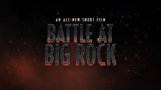 Watch the all-new short film Battle at Big Rock now.   BATTLE AT BIG ROCK is an all-new short film directed by Colin Trevorrow, written by Trevorrow and Emily Carmichael.  The short takes place one year after the events of the last Jurassic World film in Big Rock National Park, where dinosaurs are now living in our world. The story follows a family of four whose encounter with these wild animals becomes a terrifying fight for survival.   Starring: André Holland Natalie Martinez Melody Hurd Pierson Salvador  SUBSCRIBE: http://po.st/JWSubscribe  Connect with Jurassic World Website: http://po.st/JurassicWorldFallenKingdom Like Jurassic World on Facebook: http://po.st/JWLike Follow Jurassic World on Twitter: http://po.st/JWFollow Follow Jurassic World on Instagram: http://po.st/JWInsta Follow on Snap: http://po.st/JWSnap #JurassicWorld #BattleAtBigRock  Connect with Universal Pictures Like Universal Pictures of Facebook: http://po.st/UPLike Follow Universal Pictures on Twitter: http://po.st/UPFollow Follow Universal Pictures on Instagram: http://po.st/UPInsta Follow on Snap: http://po.st/UPSnap Dinosaur Protection Group: http://www.dinosaurprotectiongroup.com/  Isla Nublar Site: http://islanublar.jurassicworld.com/   Battle at Big Rock | An All-New Short Film | Jurassic World https://youtu.be/C7kbVvpOGdQ  https://www.youtube.com/jurassicworld