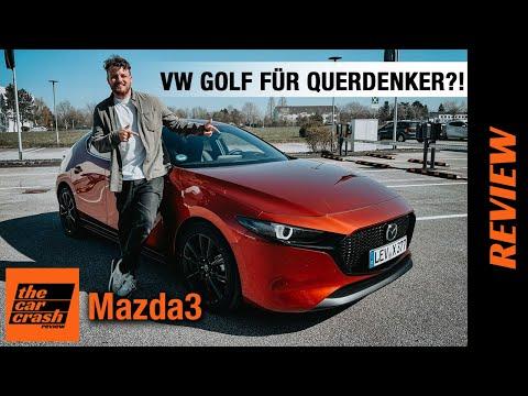 Mazda3 (2021) VW Golf für Querdenker?! 🤯💨 Fahrbericht | Review | Test | e-SKYACTIV-X 2.0 M HYBRID