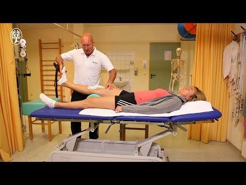 Schmerzen in der linken Seite der Taille zieht das Bein