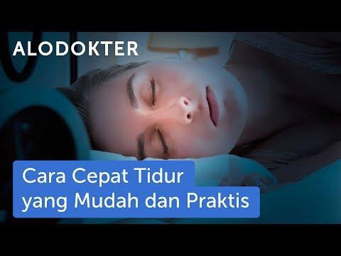 Video Cara Cepat Tidur yang Mudah dan Praktis