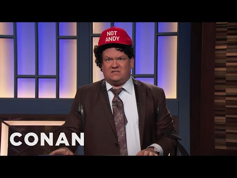 Is Andy Richter Michael Cohen's Fourth Client?  - CONAN on TBS