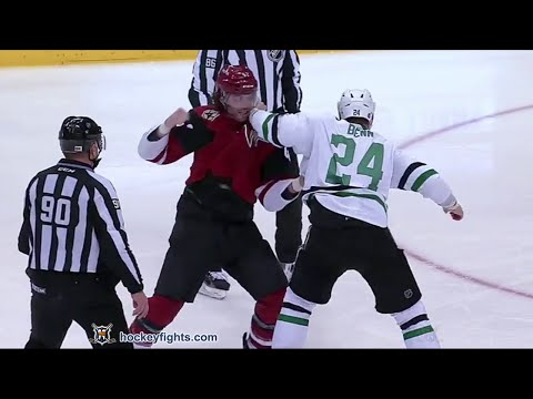Eric Selleck vs Jordie Benn