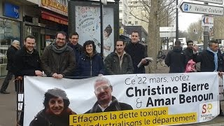 preview picture of video 'Christine BIERRE et Amar BENOUN - Élections départementales - Canton d'Argenteuil 2'