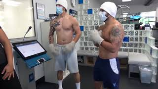 Chad Mendez Back at It Again With Cryotherapy