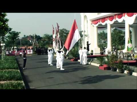 Upacara Bendera HUT RI ke-69 di The Springs Club 2014