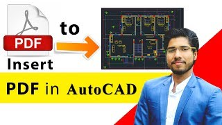 Inserting PDF in AutoCAD   How to Convert PDF into AutoCAD file