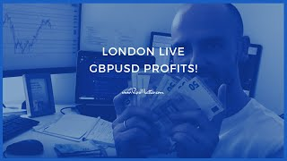 A key lesson and 2 excellent Forex profit trades [LONDON LIVE]