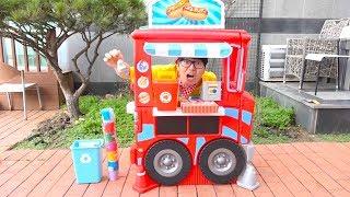 보람이와 또치의 수영장 마트놀이 Boram magical toy food