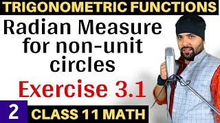 NCERT Solutions for Exercise 3.1 Trigonometric  Functions Class 11 Maths