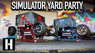 Yard Party Inception: We Drift the Donut Garage in a Video Game!