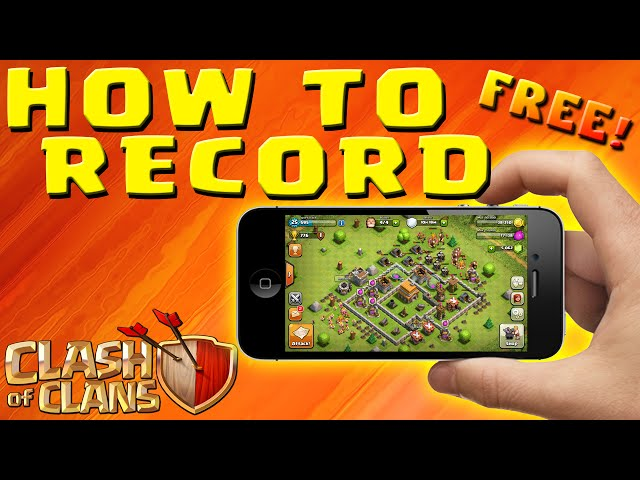 how to record music on iphone clash of clans how to record ipod iphone gameplay no 18968