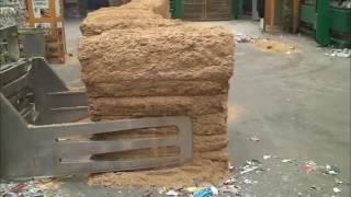 E-Teco Asia | Rice Husk Baler 왕겨 압축