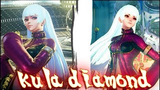 Street Fighter V PC AE mods - Kolin as kula diamond (KOF) by THEJAMK