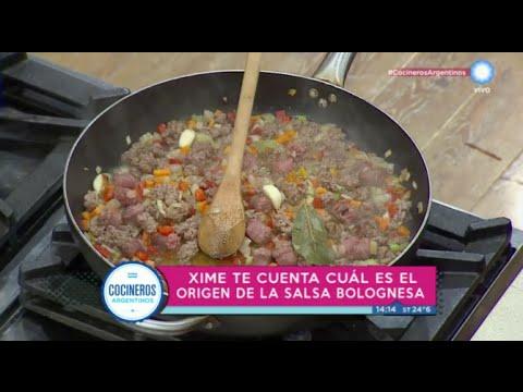 ¿Cuál es el origen de la bolognesa?