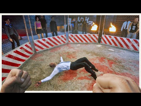 I Joined an Underground Fight Club - The Weirdest Life Simulator - Metro Sim Hustle