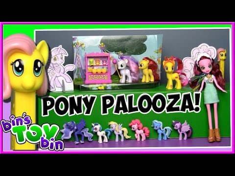PONY PALOOZA! 6 My Little Pony Toys Reviewed! | Gloriosa Daisy, Pinkie Pie, & More! | Bin's Toy Bin