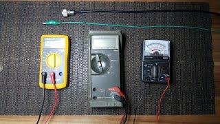 Koaxialkabel prüfen,einfach und schnell