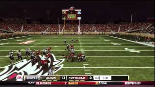NCAA Football 13 - SBCOL OD - Akron at UNM