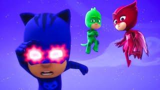Герои в масках   Ночной драйв   мультики для детей