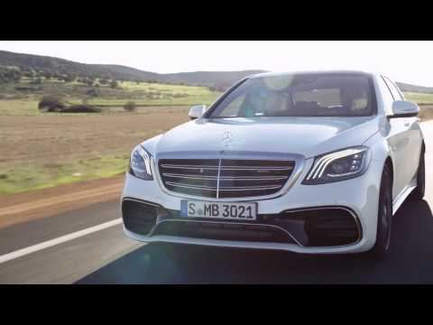 2018 Mercedes-AMG S 63 4Matic+ Road Trailer