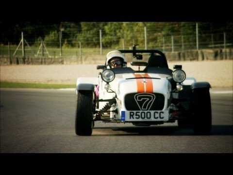 On the track at Donington | Top Gear | BBC