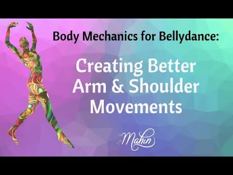 ⭐ Tip For Better Bellydance Shoulders & Arms ⭐
