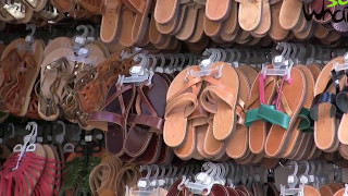So What Leather Sandals Store Tour