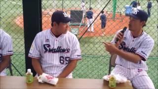 MeetSwallows2016/5/28in戸田ジュリアス選手原泉選手星野選手