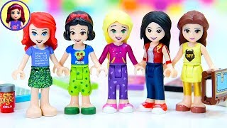 Casual Princess Clothes For Lego Disney Princess Minidolls | Pyjama Party Dress Up Style